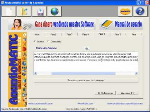 Anuntiomatic - Software para poner y publicar anuncios en Internet - Anuntiomatic-Software SEO-2.mp4