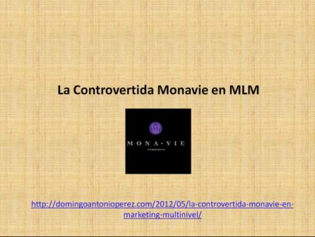 Análisis de Monavie