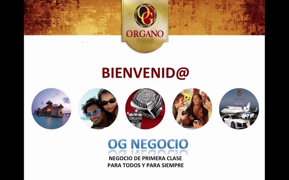 Presentación de Organo Gold