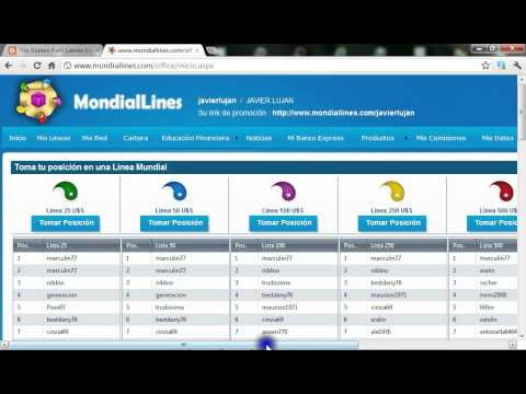 MondialLines en Español ~ Introduccion