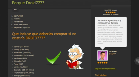 Gana Dinero con Droid777