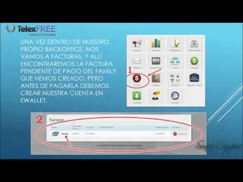 Registro Telexfree y Pago Con Ewallet