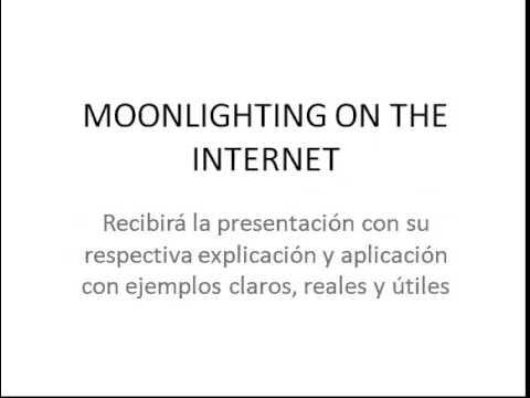 Negocios en Internet - Evento  Moonlighting en Internet para sus Negocios