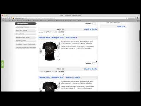 Karatbars. Video tutoriales. Back Office - Compra de Producto