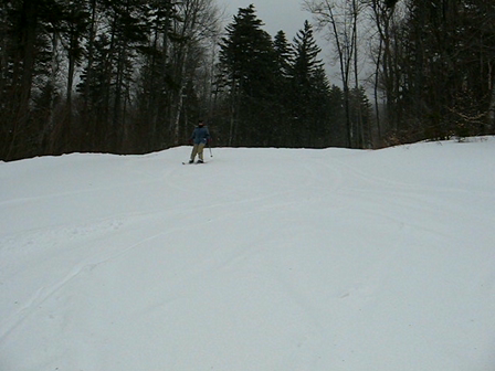 skiing at Sunapee 10 seconds long