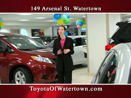 Toyota of Watertown commercial