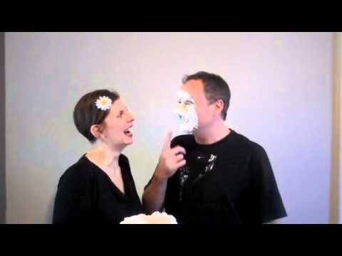 Shell & Jape Show (OUT TAKES) Pie in Face