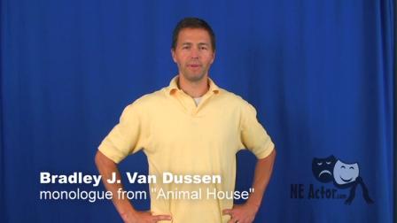 Bradley J. Van Dussen Monologue-Comedic