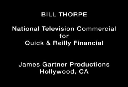 Bill Thorpe - Commercial Demo
