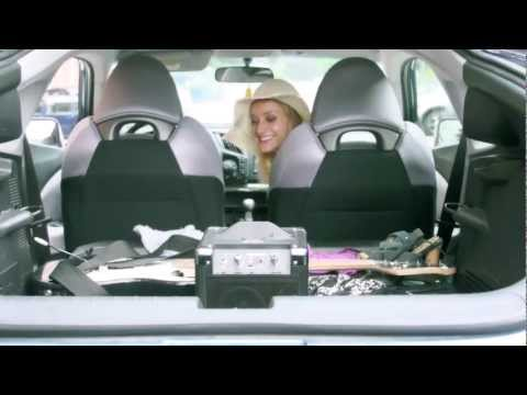"Erica Derrickson in Ion's ""RoadRocker"" commercial"