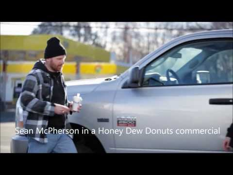 Actor Sean McPherson in a Honey Dew Commercial