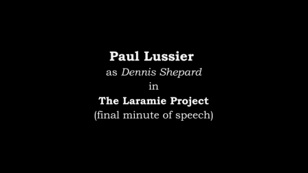 Paul Lussier-Dramatic Monologue