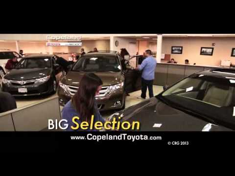 Count on Copeland Toyota