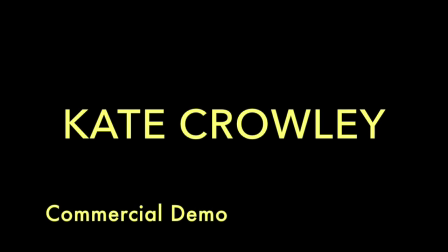 KATE CROWLEY Commercial Demo