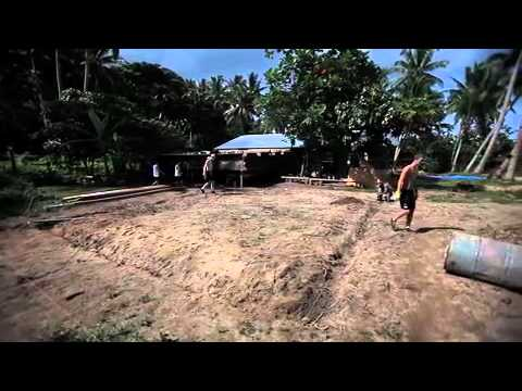 Fiji Mission Trip 2012 - First Day on Rabi Island