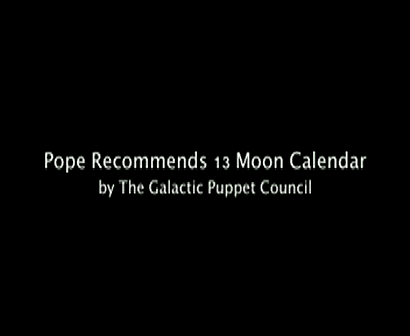 Pope 13 Recommends 13 Moon Calendar