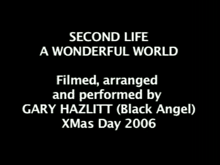 Second Life - A WONDERFUL WORLD