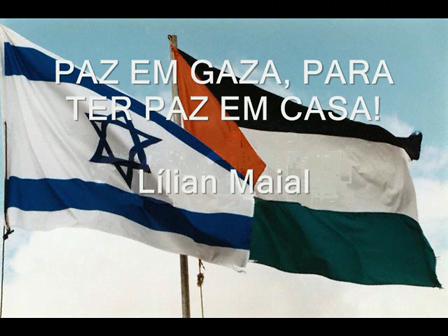 PAZ EM GAZA!