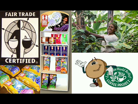 Fair Trade 2: Principals of Fair Trade and efforts of Lutheran World Relief, Equal Exchange, Center for Global Education