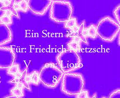 Kundtunstern für Friederich Nietzsche