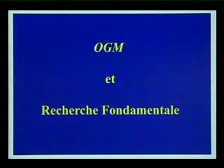 Conférence OGM de Christian Vélot - 2 5 -