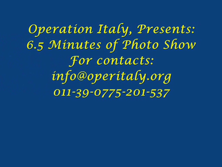 Operation Italy Photo Show