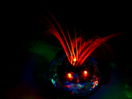underwater light show fountain