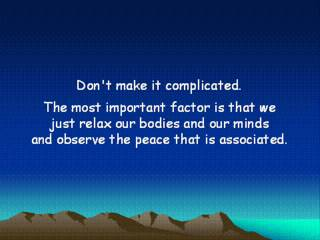 "Meditation for Peace, Joy, Health and Success, by Tony DeLiso author of ""Legacy: The Power Within"""