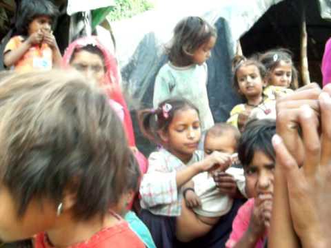 Slum-Children in Dharamsala...
