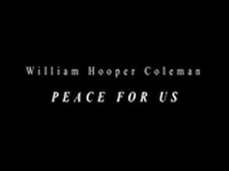 Peace For Us