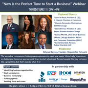 Now is the Perfect Time to Start a Business Webinar