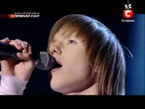 Х-фактор 2. Финал. Владислав Курасов - 2-ая песня (31.12.2011)