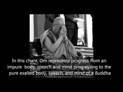 Om Mani Padme Hum with Prayers by His Holiness The Dalai Lama