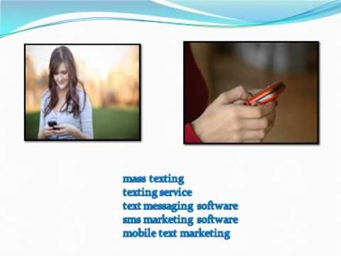Text Marketing Software