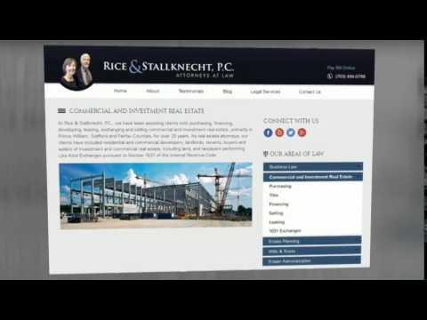 Lawyer - Rice & Stallknecht Pc (703) 494-0799