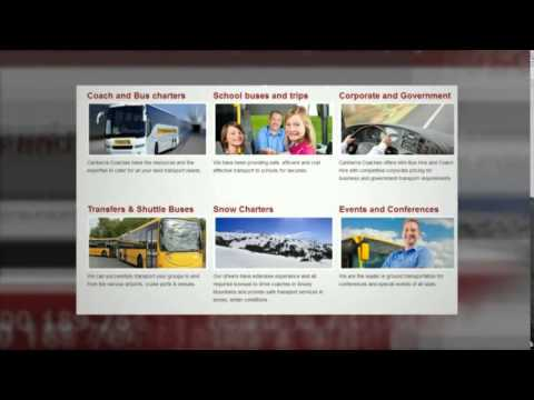 canberra coach hire and charters