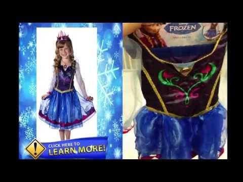 Frozen Princess Anna Dress Up - Take a look at Anna Dress to make Frozen outfits!
