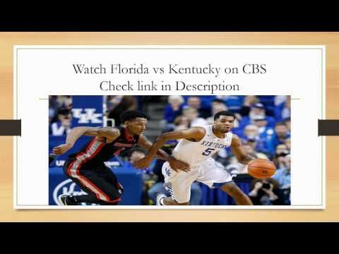 Florida vs Kentucky Basketball Live Stream 2015