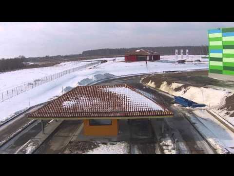 Industrial Park Stupino1, Russia in Winter 2014/2015