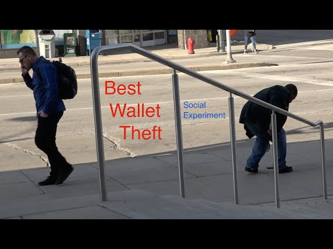 Best Wallet Theft / Drop (Social Experiment)