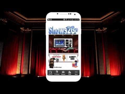 Shows2Go App