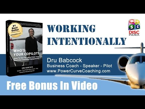 Business Coach San Francisco - Work Intentionally - Don't Wing It