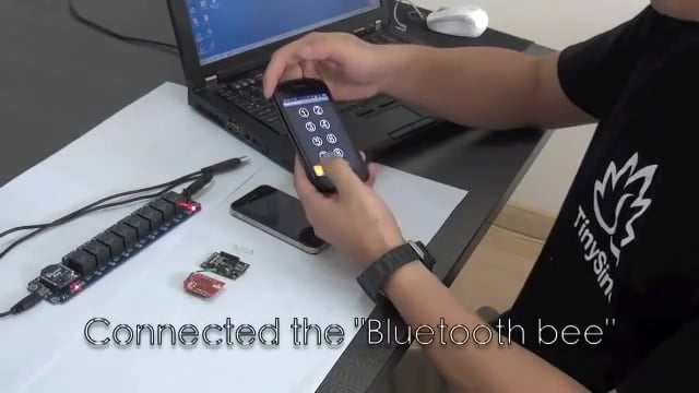 TOSR08 Smartphone Relay Control -- Via Bluetooth and Wifi By Android and Iphone IOS