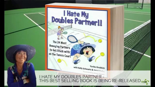 The Funniest Tennis Doubles Partner Book Ever.