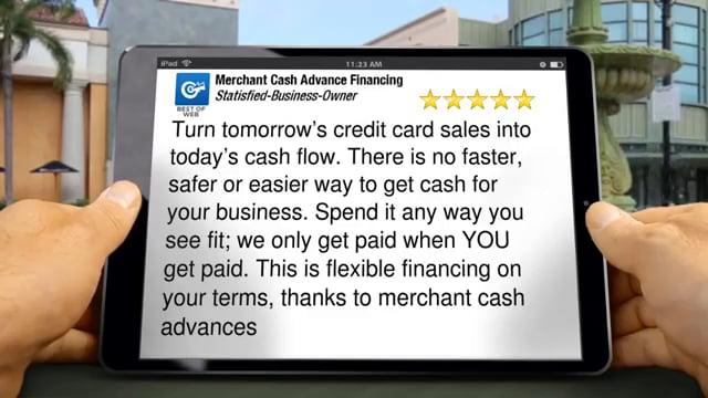 Merchant Cash Advance Financing New York Impressive Five Star Review