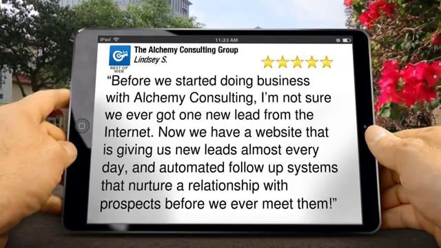 The Alchemy Consulting Group Client Review