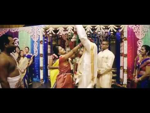 Kannan & Premani Cinematic Wedding Highlights - Perumal Temple Singapore