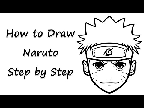 How to Draw Naruto Step by Step - by Laor Arts