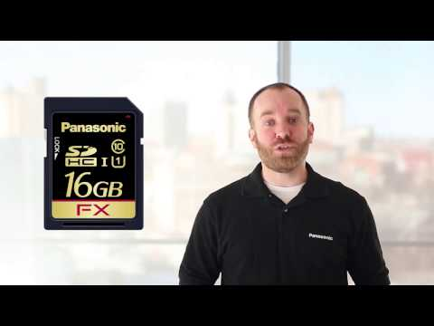 NEW Panasonic SD Flash Memory Cards for Consumer, Consumer Plus and Industrial Applications
