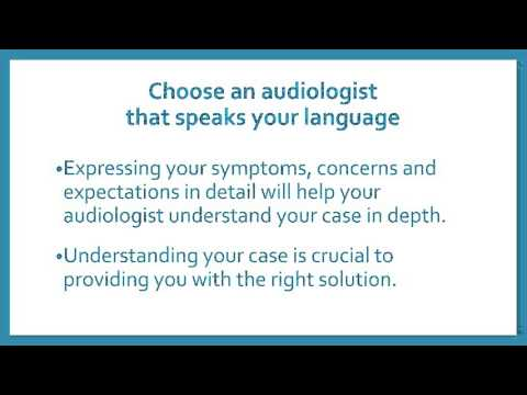 How to choose an Audiologist